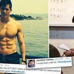 Professor de matemática tornou-se famoso na internet. E não foi pelas suas aulas!