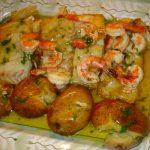Bacalhau com camarão no forno, a receita em que te vais viciar!