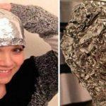 Este truque com uma folha de papel de alumínio está a encantar até os cabeleireiros profissionais!