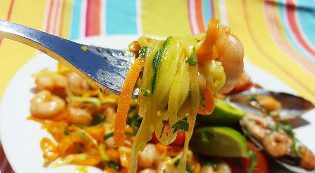 esparguete legumes
