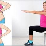5 Exercícios utilizando uma cadeira que te fazem perder gordura rapidamente. Vê aqui quais são!