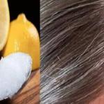 Aplica esta mistura no teu cabelo, e ele vai voltar à cor natural sem a utilização de químicos!