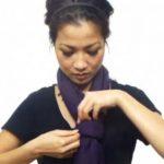 Aprende 25 Maneiras de usar uma echarpe!