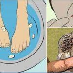Coloca os pés nesta água com alho e surpreende-te com a mudança que vai acontecer no teu corpo!