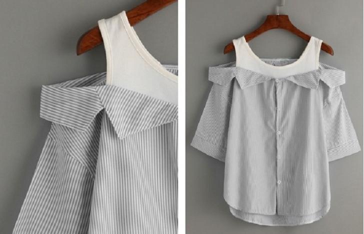 10 modos para transformar camisas masculinas em roupas