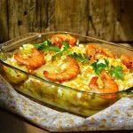 Bacalhau de Domingo! Um delicioso bacalhau com camarão capaz de abrir o apetite a qualquer pessoa!